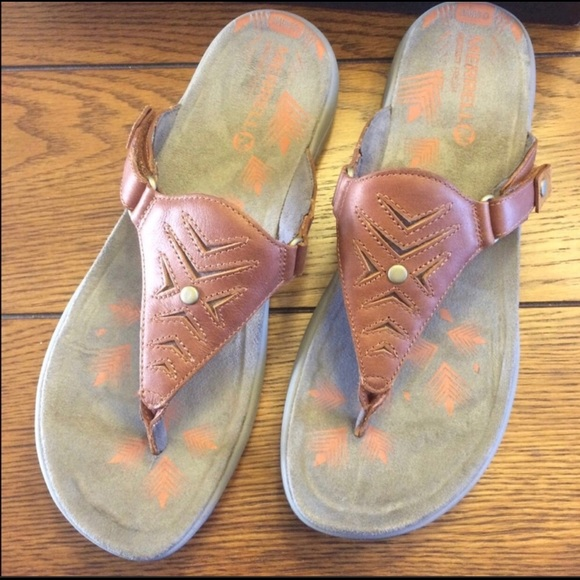 395e06da74dc New Merrell Ladies 10 Adhera Thong Sandal